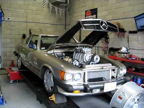 For Sale 1984 Mercedes 380sl Convertible Hot Rod Sbc 350