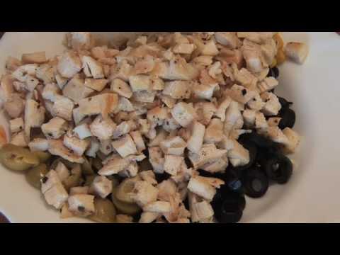 recetas de cocina peruana: causa limeña con pollo