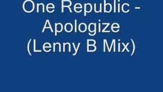 Apologize (Lenny B Club Mix)