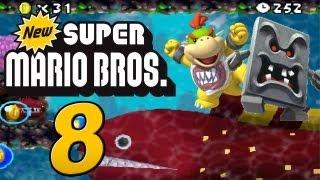New Super Mario Bros. DS : Let's Play New Super Mario Bros. DS Part 8: Abrasierte Arschhaare