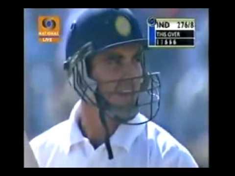 Zaheer Khan 4 sixes off 0langa
