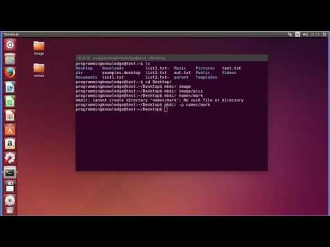 Linux Command Line Tutorial For Beginners 6   mkdir Command