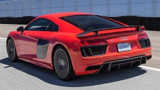 2017 Audi R8 V10 (Plus) Hot Lap! - 2016 Best Drivers Car Contender