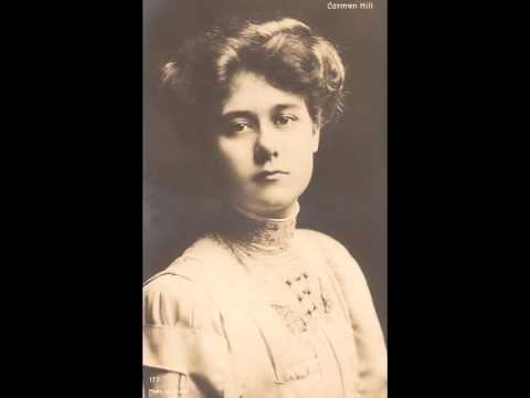 British Contralto Carmen Hill ~ 'Tis the hour of farewell (c.1915?)