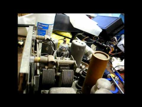 Restoration of a GE model F63 tube radio from 1937 - part one