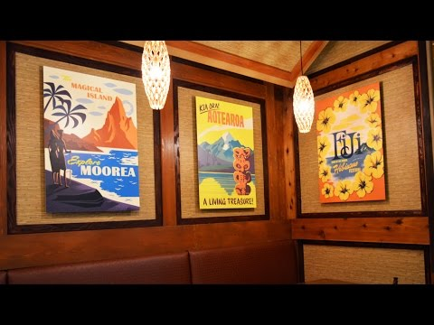 Refurbished Captain Cook's Re-Opens at Disney's Polynesian Resort, Walt Disney World - Detailed Tour