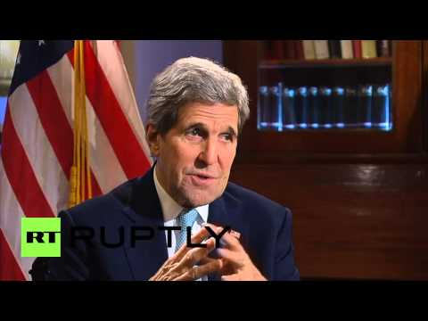 Russia: US not looking for confrontation with Russia over Ukraine - Kerry