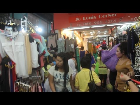 Pratunam Market Bangkok Thailand. Thailand's Largest Clothing Market. Cheap Bangkok Clothes Shopping