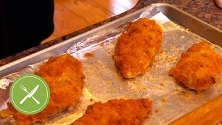 Cornmeal-Crusted Oven Fried Chicken | Kitchen Daily