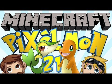 Pixelmon Minecraft (Pokemon Mod) #21 Super Serperior