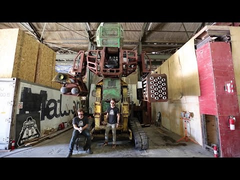 TEAM USA KICKSTARTER FOR GIANT ROBOT DUEL
