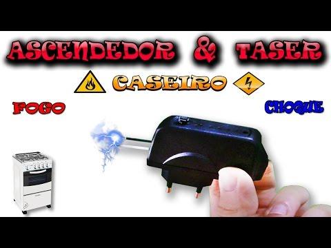 Como Fazer um ascendedor elétrico ( TASER ) ft.CleberMag