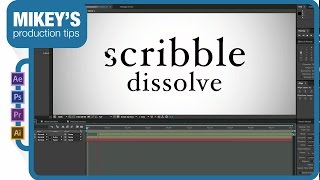 After Effects Quick Tip: Scribble Dissolve