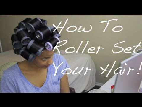Dominican Wash And Set Straight Hair Tutorial Youtube