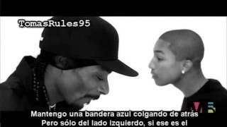 Pharrell Video - Snoop Dogg - Drop it Like it's Hot Subtitulado Al Español Ft Pharrell Williams 2