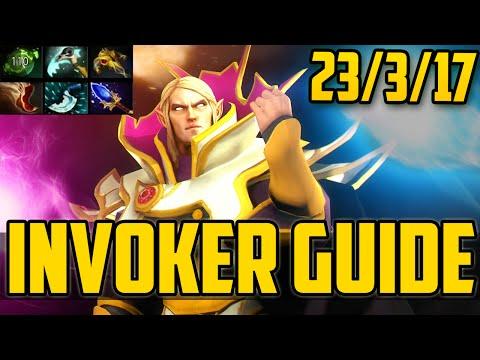 Гайд на Инвокера Через Форжей | Q/E Invoker Dota 2 Guide