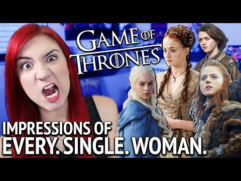Game Of Thrones Voice Impressions All Women