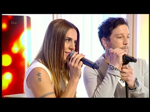 Matt Cardle & Melanie C - Loving You - Live on This Morning (HD)