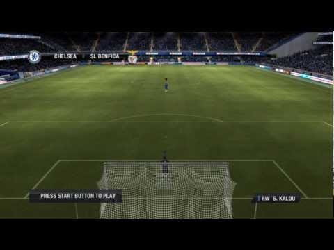 Chelsea 3 - 0 Benfica [FIFA 12] (1/2) | UEFA Champions League (Quater Final - Return)