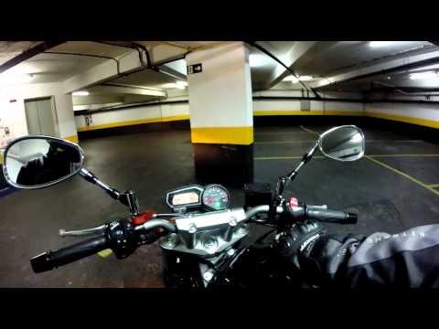 Fernandinho Yamaha FZ6 - Mostrando a Moto trocando ideia.