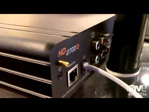 DSE 2016: Videotel Digital Features HD 2700 D DVD Video-Media Player
