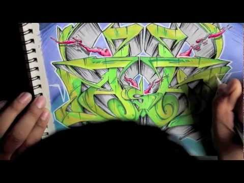 Graffiti Blackbook Sketch