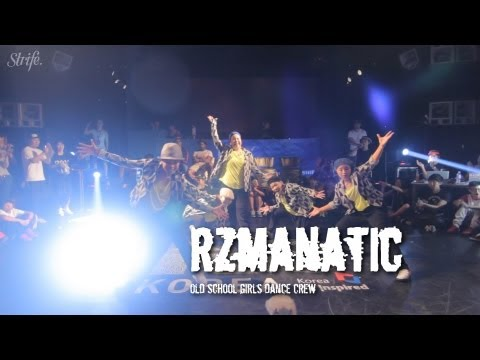 Rzmanatic japanese Old School Girls Dance Crew | Strife. | R16 Korea 2013 video