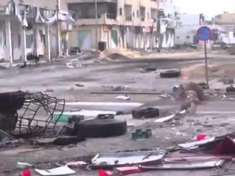 LIBYA: Aftermath of battle in Misurata 3/29/11