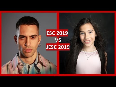 Eurovision 2019 vs Junior Eurovision 2019 | THE BATTLE