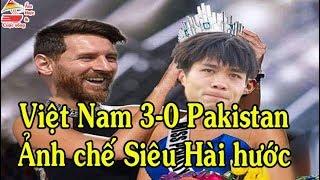 U23 Việt Nam vs U23 Pakistan | Ảnh chế siêu hài hước | Bóng đá | Ẩm thực & Cuộc sống
