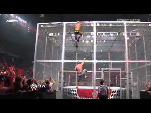 John Cena vs Randy Orton - Gauntlet Match Hell in a Cell thumbnail