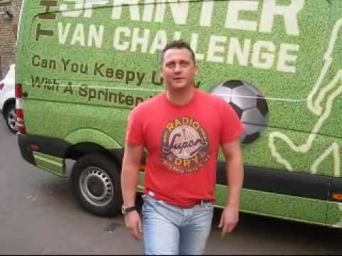 Darren Gough - talkSport Keepy Uppy Challenge - sponsored by Mercedes-Benz Vans