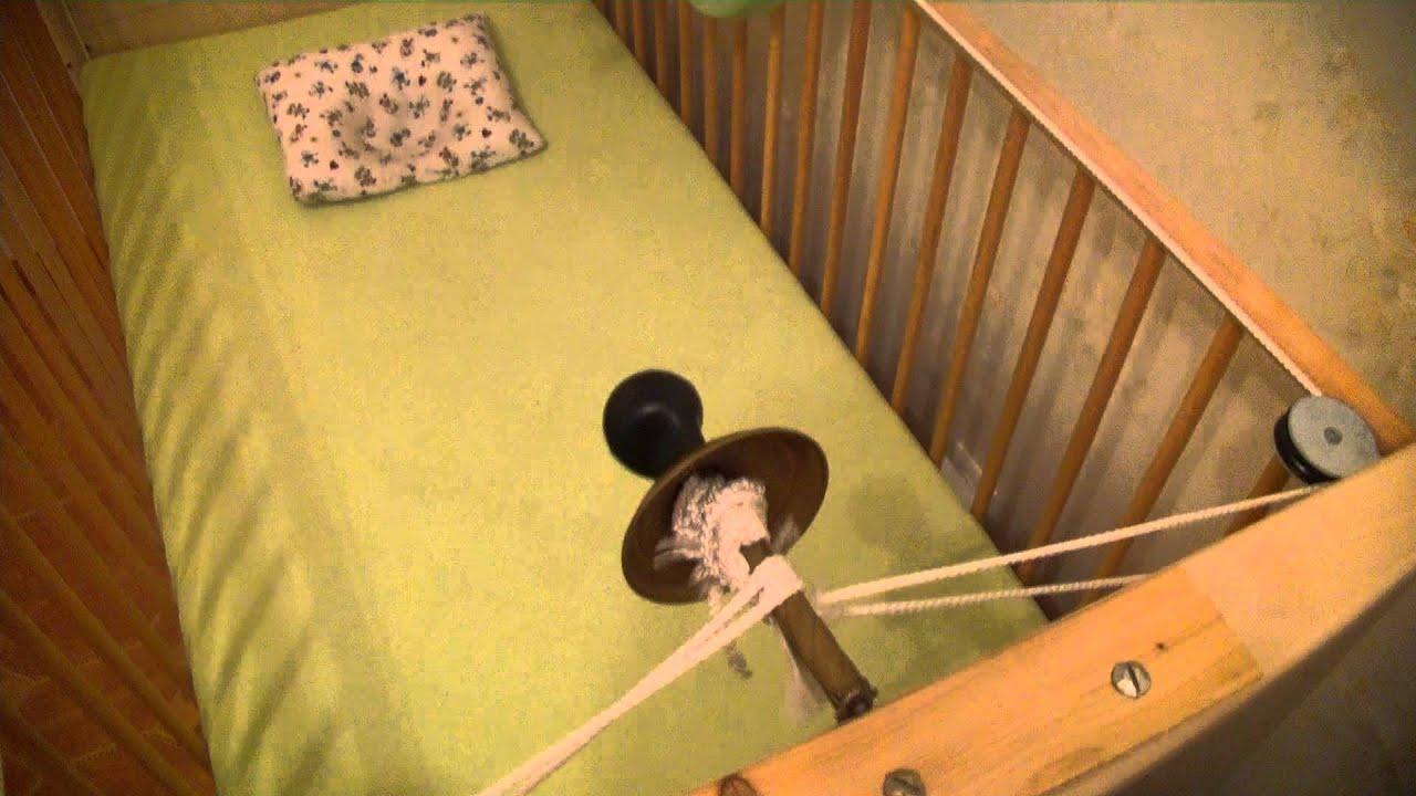 Механизм укачивания для детской кровати своими руками