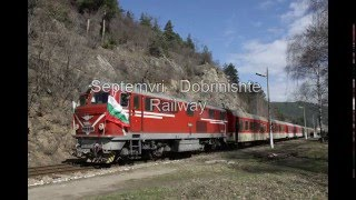 BDZ 75 006 with 8 cars train