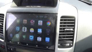 Автомагнитола Megabox 1009 Android OS для Toyota Prado LC120