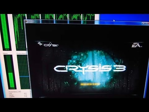 How to start Crysis 3 on a DirectX10 PC (Very Low Frames/second!!!)