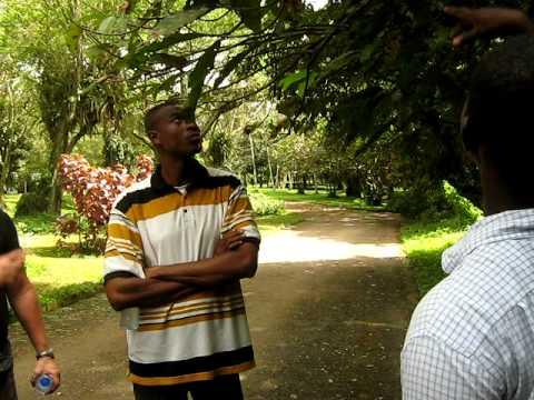 EMI's visit to Botanical Garden (Aburi) Ghana 2