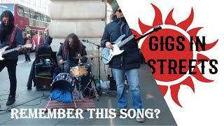 T Rex, Get it On - busking in the streets of London, UK