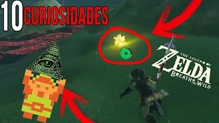 10 Curiosidades/Easters Eggs de Zelda Breath of The Wild (Sin Spoiler) - Cosas que no viste