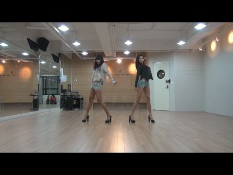 SISTAR19 19 -   Choreography(GONE NOT AROUND ANY LONGER)