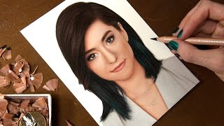 Drawing Christina Grimmie