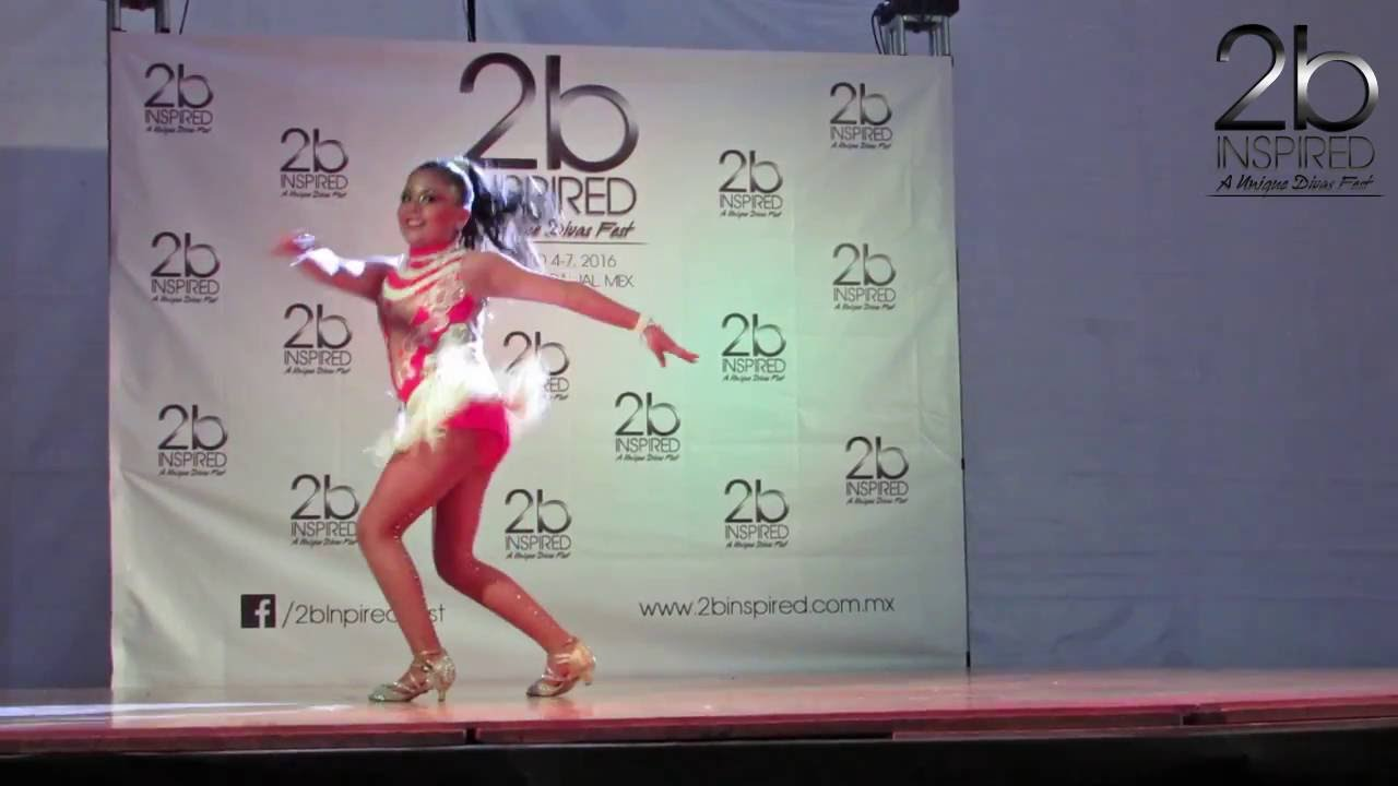 Leilani Mariscal | 1er Lugar, Salsa Soloista Kids | 2b Inspired 2016