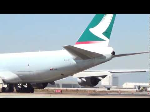 Cathay Pacific Cargo Boeing 747-8F Taxiing By
