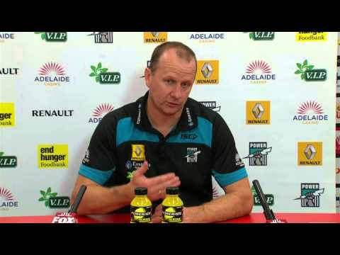 PTV: Ken Hinkley post-match v Gold Coast