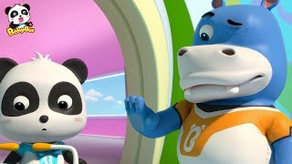 What is Hank Looking at? | Rescue Baby Panda | Super Panda Rescue Team | BabyBus