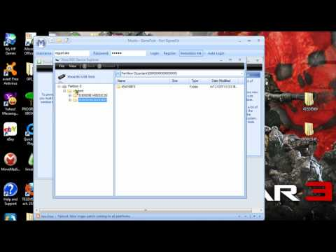 DEMO Gears Of  War 3 beta tutorial con usb funciona de maravilla ya lo probe