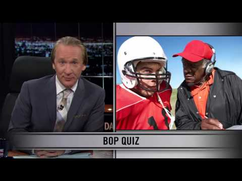 Real Time With Bill Maher: Web Exclusive New Rule - Bop Quiz (HBO)