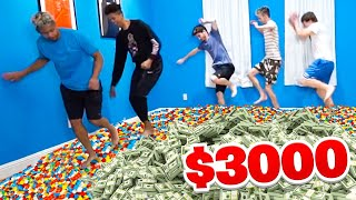 Last To Stop Walking On LEGOS Circle WINS $3,000