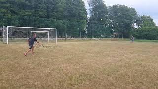 Footbal goal DR