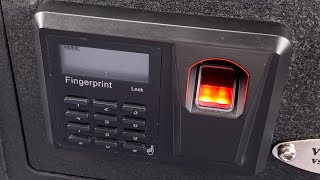 [998] Open in 3 Seconds: Viking Security Fingerprint Safe (Model VS-20BLX)